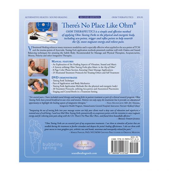 manuale sound healing per utilizzo diapason con dvd retro