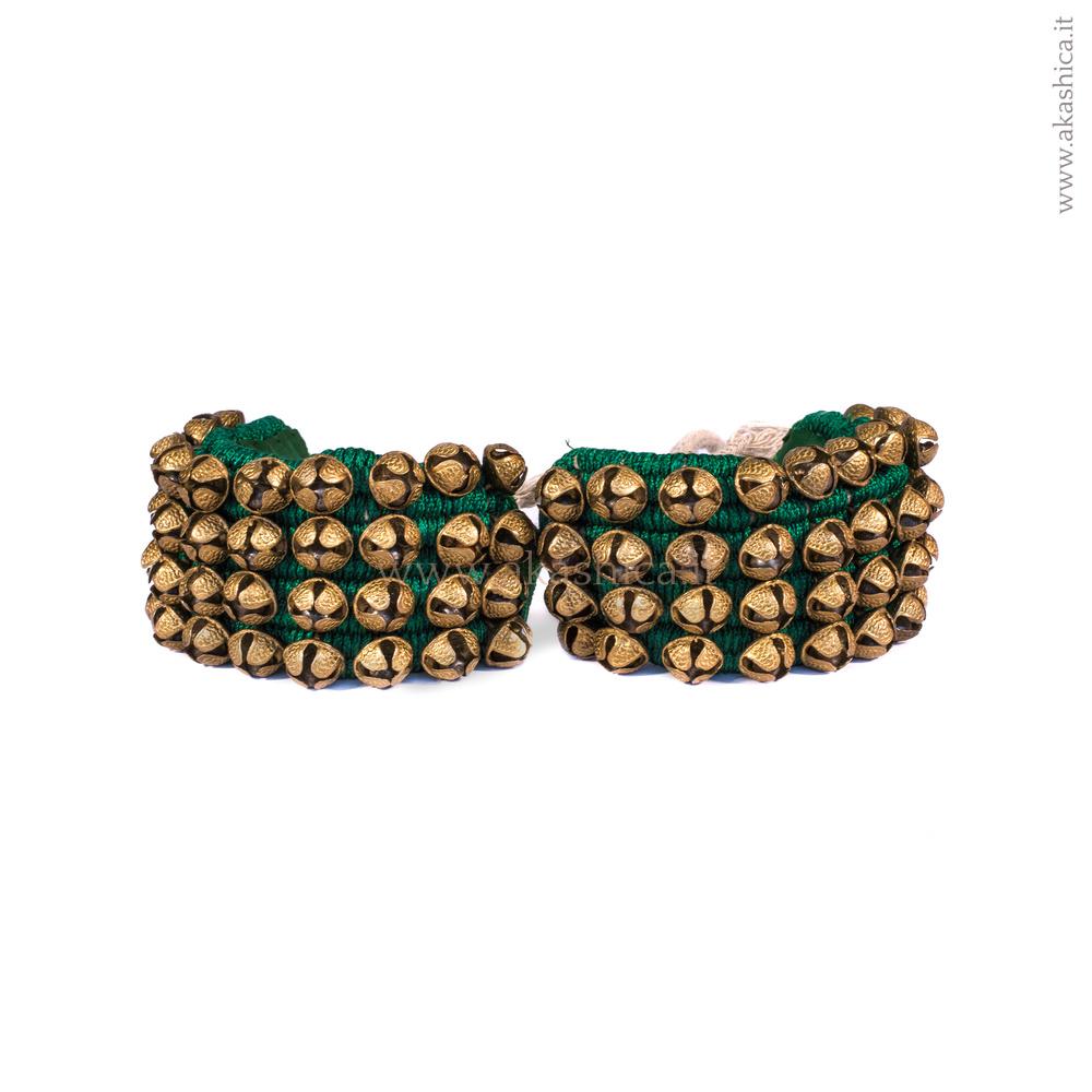 alta moda assolutamente alla moda comprare Cavigliera - Ghungroo - Strumenti Musicali Indiani e dal ...